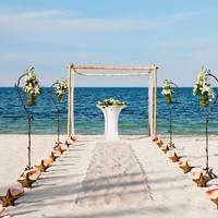 Excellence Playa Mujeres Outdoor Wedding Area