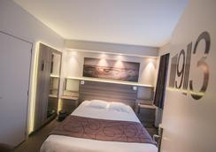 Hotel Burlington - ออสเทนท์ - ห้องนอน