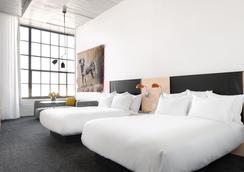 21c Museum Hotel Oklahoma City - โอคลาโฮมาซิตี - ห้องนอน