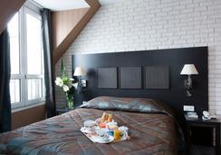 Hôtel Brittany Opéra - ปารีส - ห้องนอน