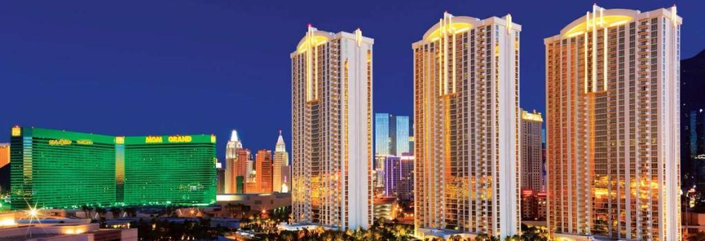 Aaa 1 Bedroom Suite At The Signature Condo Hotel - Las Vegas - Building