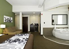 Sleep Inn & Suites Downtown Inner Harbor - บัลติมอร์ - ห้องนอน