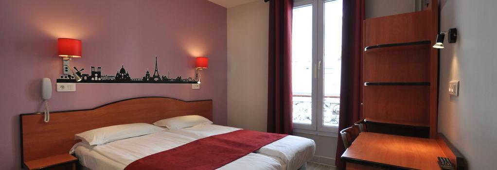 Grand Hotel De Turin - Paris - Bedroom