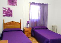 Pensión Amparo Las Hayas - Valle Gran Rey - ห้องนอน
