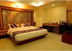 Hotel Bhargav Grand - กูวาฮาติ - ห้องนอน