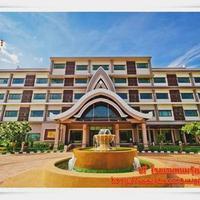 Phanomrung Puri Boutique Hotels and Resorts Phanomrungpurihotel_nangrong_buriram_Mainbuilding in front of circle_BURIRAM_THA
