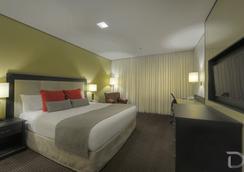 Hotel Deville Prime Porto Alegre - ปอร์โต อัลเลเกร - ห้องนอน