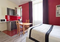 Apart'hotel Ajoupa - นีซ - ห้องนอน