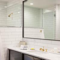 The 404 Hotel Bathroom