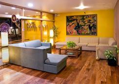 Hotel Nahuel Huapi - ซาน คาร์ลอส เด บาริโลเช - ล็อบบี้