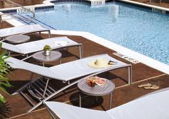 SpringHill Suites Houston Intercontinental Airport - ฮุสตัน - สระว่ายน้ำ