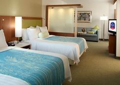 SpringHill Suites Houston Intercontinental Airport - ฮุสตัน - ห้องนอน