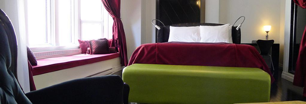 Hotel Chez Swann - Montreal - Bedroom