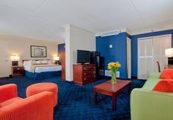 Cavalier Inn At The University of Virginia - ชาร์ลอร์ตวิลล์ - ห้องนอน