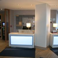 Holiday Inn Express & Suites Buffalo Downtown Lobby