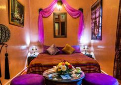 Riad Bahia Marrakech - มาราเกช - ห้องนอน