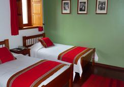 B&B-Hotel Pension Alemana - ซัสโก - ห้องนอน