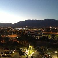 Ontario Airport Hotel Evening View