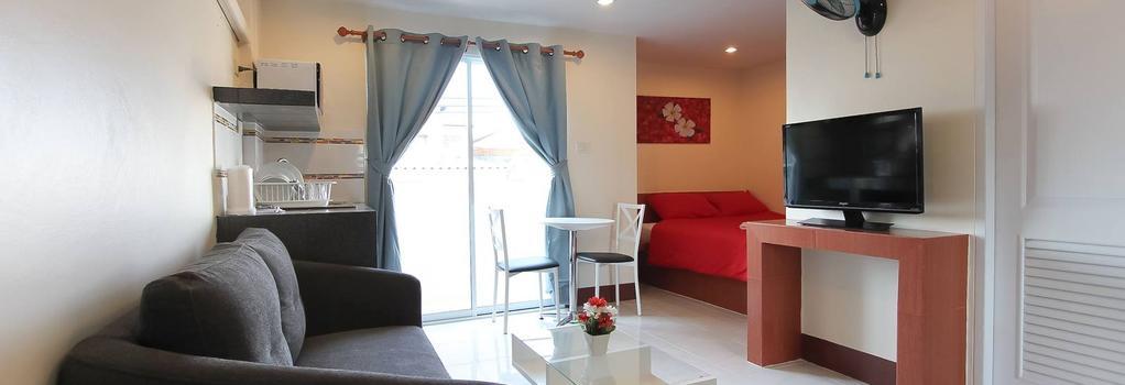 Walking Street Guest House - Pattaya - Bedroom