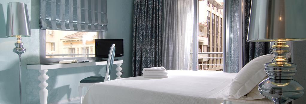 Athens Diamond Homtel - Athens - Bedroom