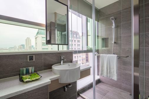 โรงแรมไฉอิน - ตงเหมิน - ไทเป - ห้องน้ำ