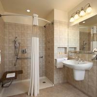 Days Inn Chicago ADA Bathroom