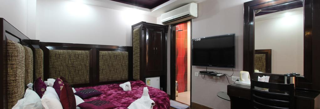 Hotel Bonlon Inn - New Delhi - Bedroom