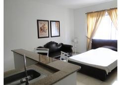 Arco Apartasuites - กาลี - ห้องนอน