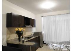 Arco Apartasuites - กาลี - ห้องครัว