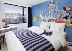 25hours Hotel Vienna at MuseumsQuartier - เวียนนา - ห้องนอน