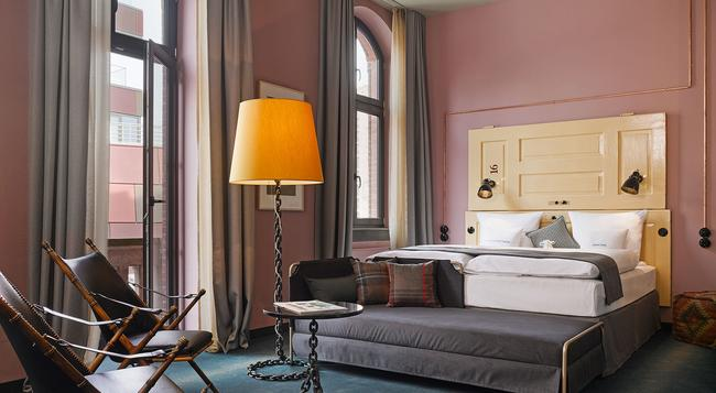 25hours Hotel Altes Hafenamt - Hamburg - Bedroom