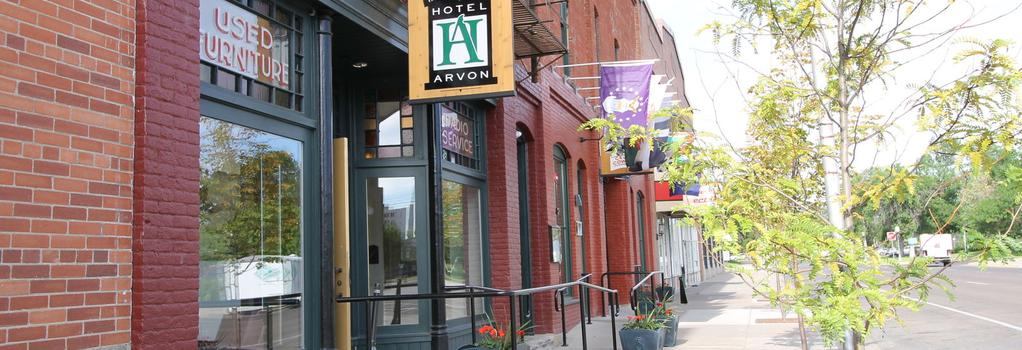 Hotel Arvon - Great Falls - Building
