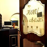 Hotel Des Artistes Reception