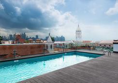 Central Hotel Panama - ปานามาซิตี้ - สระว่ายน้ำ