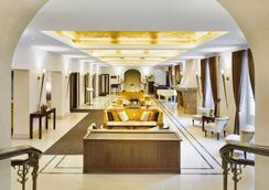 Mamaison Hotel Le Regina Warsaw - วอร์ซอ - ล็อบบี้