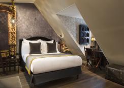 Hotel Da vinci - ปารีส - ห้องนอน