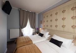 Hotel De Bellevue Gare du Nord - ปารีส - ห้องนอน