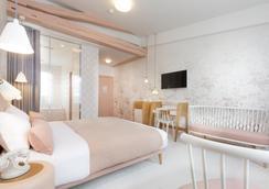 Hotel le Lapin Blanc - ปารีส - ห้องนอน