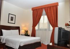 Danat Century Hotel Apartments - อาบูดาบี - ห้องนอน