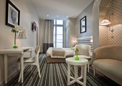 Hôtel Icône - ปารีส - ห้องนอน