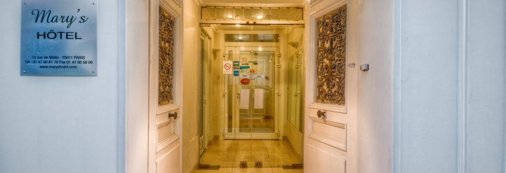 Mary's Hotel République - Paris - Building