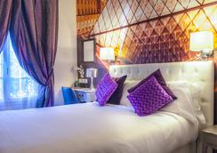 Hotel Ascot Opera - ปารีส - ห้องนอน