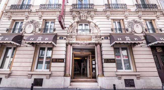 Richmond Opera Hotel - Paris - Building