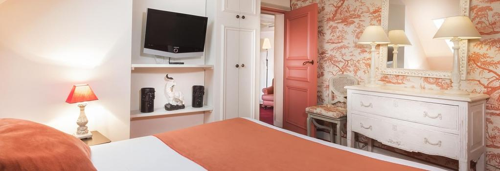Hotel des Ducs d'Anjou - Paris - Bedroom