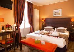 Hotel des Arts Montmartre - ปารีส - ห้องนอน