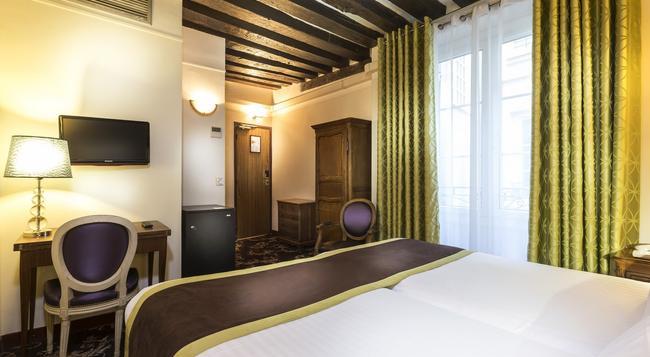 Crystal Hotel - Paris - Bedroom