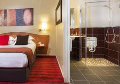 Europe Hotel Paris Eiffel - ปารีส - ห้องนอน