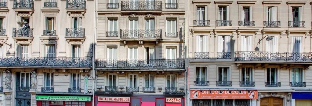 Hotel Maubeuge Gare du Nord - Paris - Building