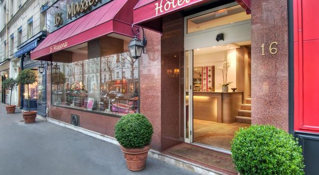 Hotel Massena - Paris - Building