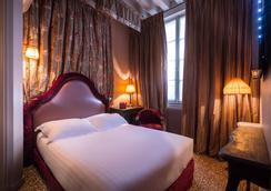 Hotel Odéon Saint Germain - ปารีส - ห้องนอน